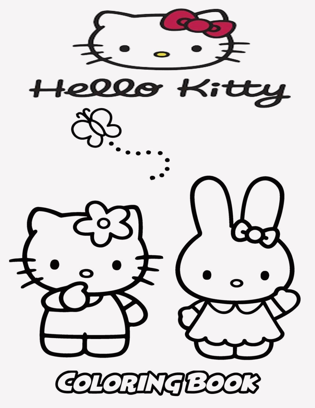 20 Hello Kitty Coloring Pages Rainbow In 2020 Kitty Coloring Hello Kitty Colouring Pages Cat Coloring Book