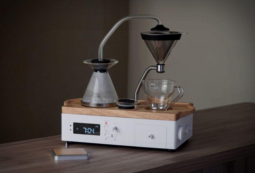 Barisieur coffee tea brewing alarm clock in 2020