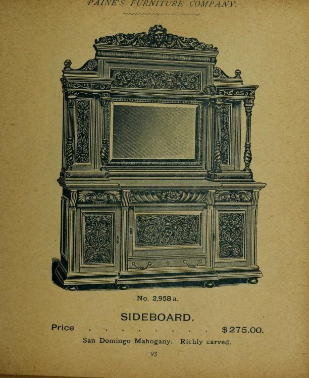 Paines Furniture Company [catalog] | Furniture companies