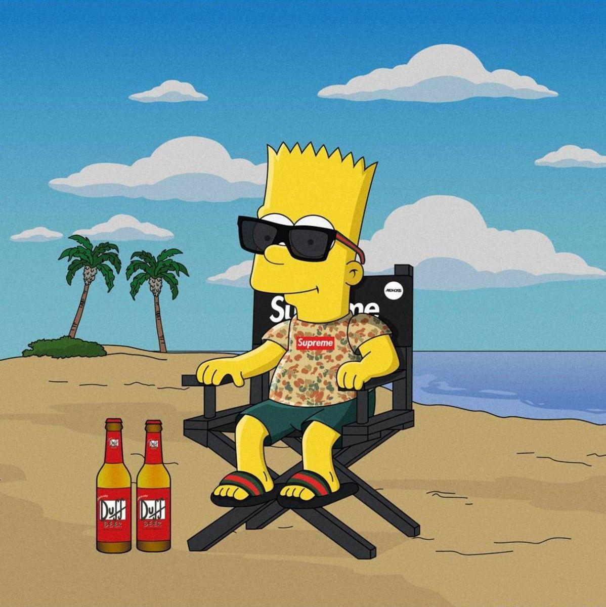 Xxtentacion Bart Simpson