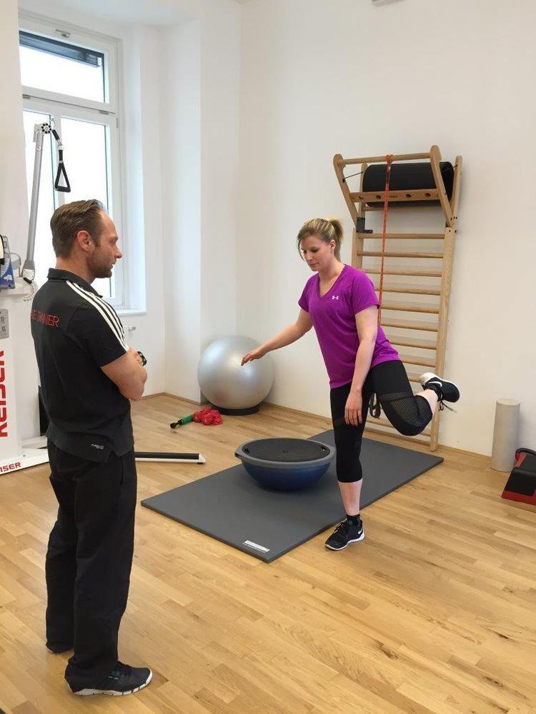 Balance-Kraft-Workout für den kompletten Körper/Full body stability workout