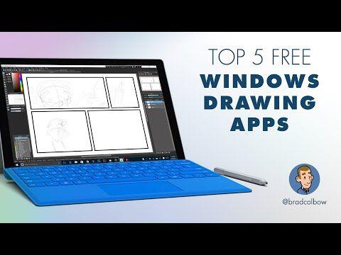 Testing 5 Free Windows Drawing apps YouTube Digital
