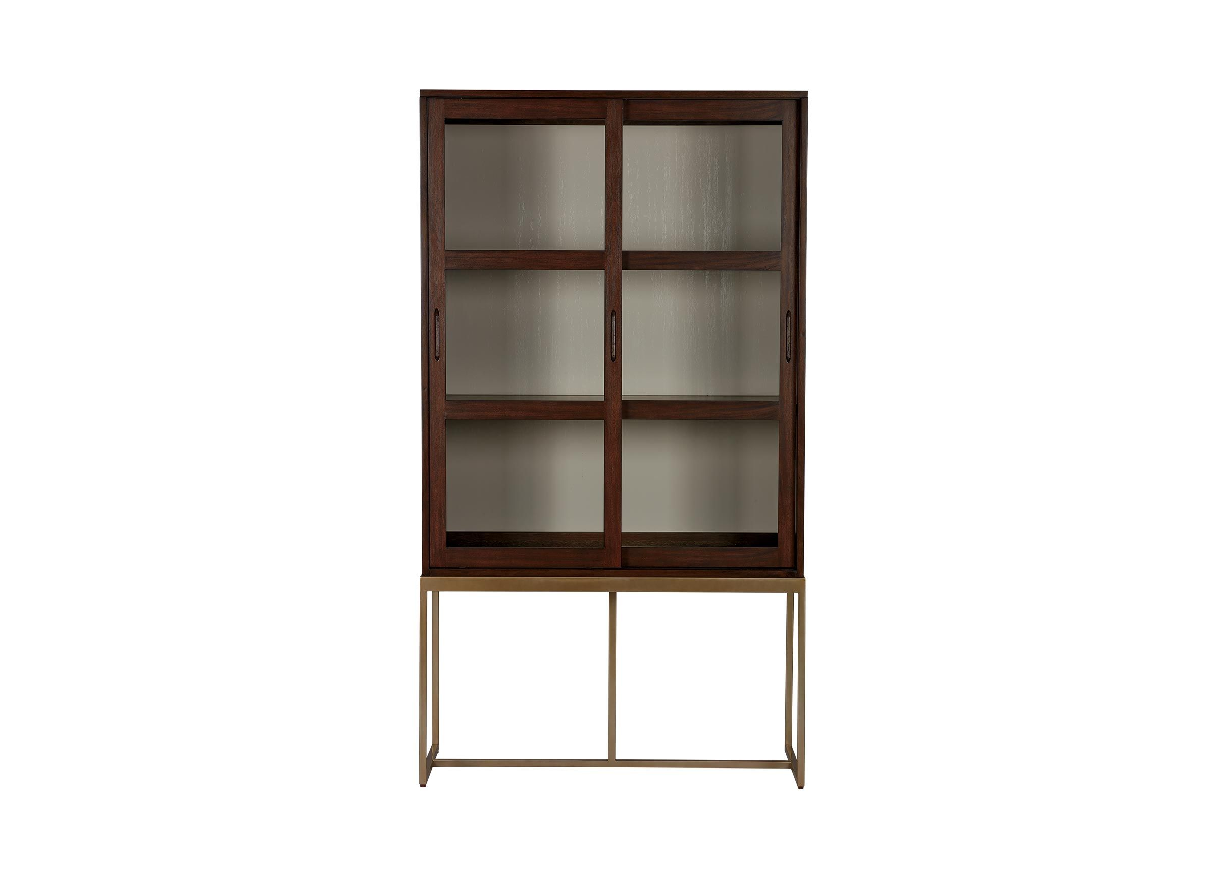 Galewood Tall Display Cabinet Crawford Coho Lr Gl