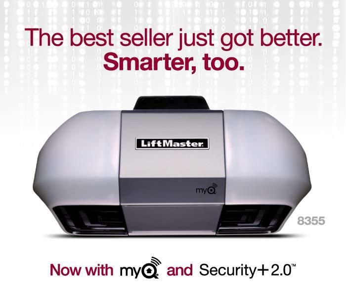 The Latest 1 2 Horsepower Belt Drive Garage Door Opener From Liftmaster Complete With My Q Technology And Security Liftmaster Belt Drive Garage Door Opener