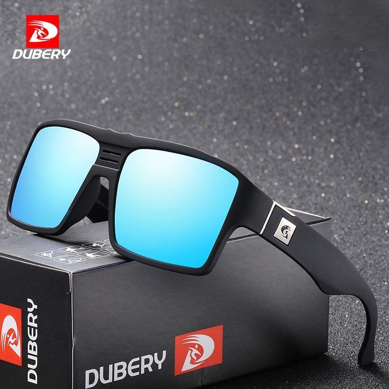 92d92ea8a2 DUBERY Polarized Sunglasses Men s Retro Male Goggle Colorful Sun Glasses  For Men Fashion Brand Luxury Mirror Shades Cool Oculos Review