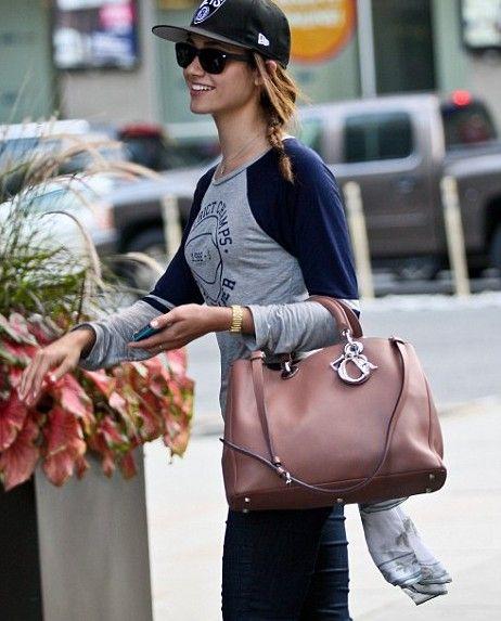 ba3b0d76a160 Emmy Rossum Diorissimo Pink Medium Bag