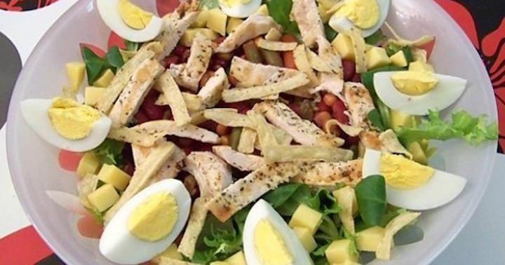 adelgazar comiendo ensaladas de lechugas