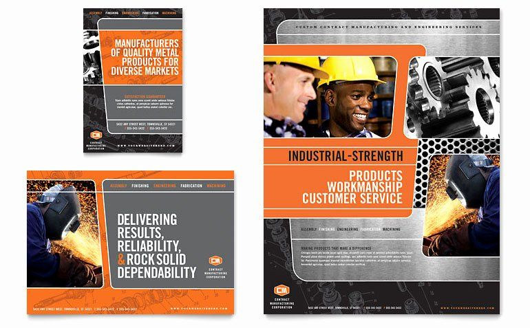 1 4 Page Flyer Template Free Fresh Manufacturing Engineering Flyer Ad Template Word Flyer Template Business Flyer Templates Book Cover Template