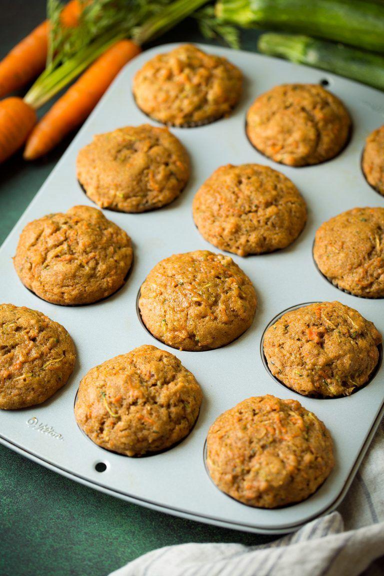 Carrot zucchini spice muffins spice muffins spiced