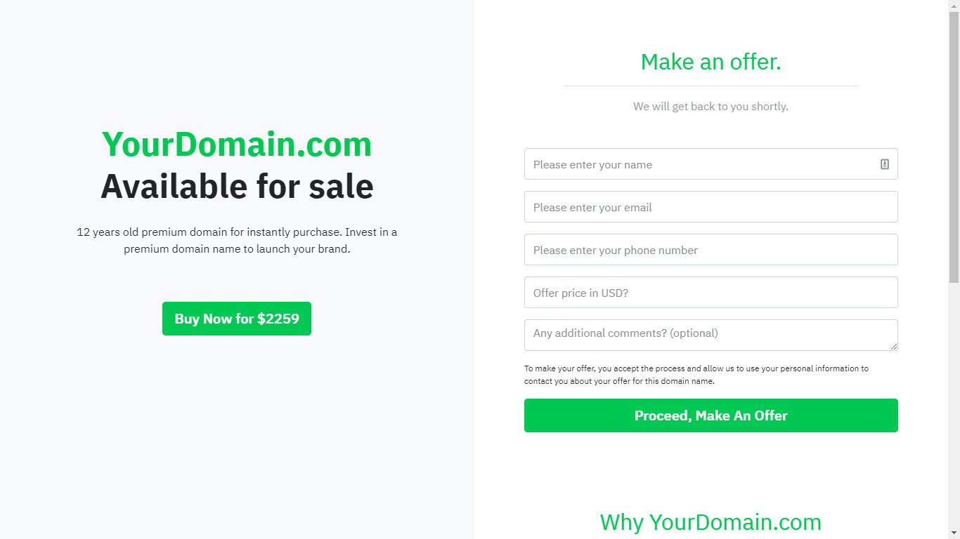 Onewebmedia I Will Help Sell Your Domain Name With Appraisal And Landing Page For 15 On Fiverr Com Blog Names Inspiration Creative Blog Names Domain Name Ideas