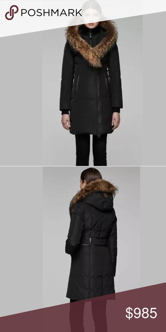 7862dbaffad Mackage Kay down double collar fur hood XS jacket Pre loved MACKAGE ...