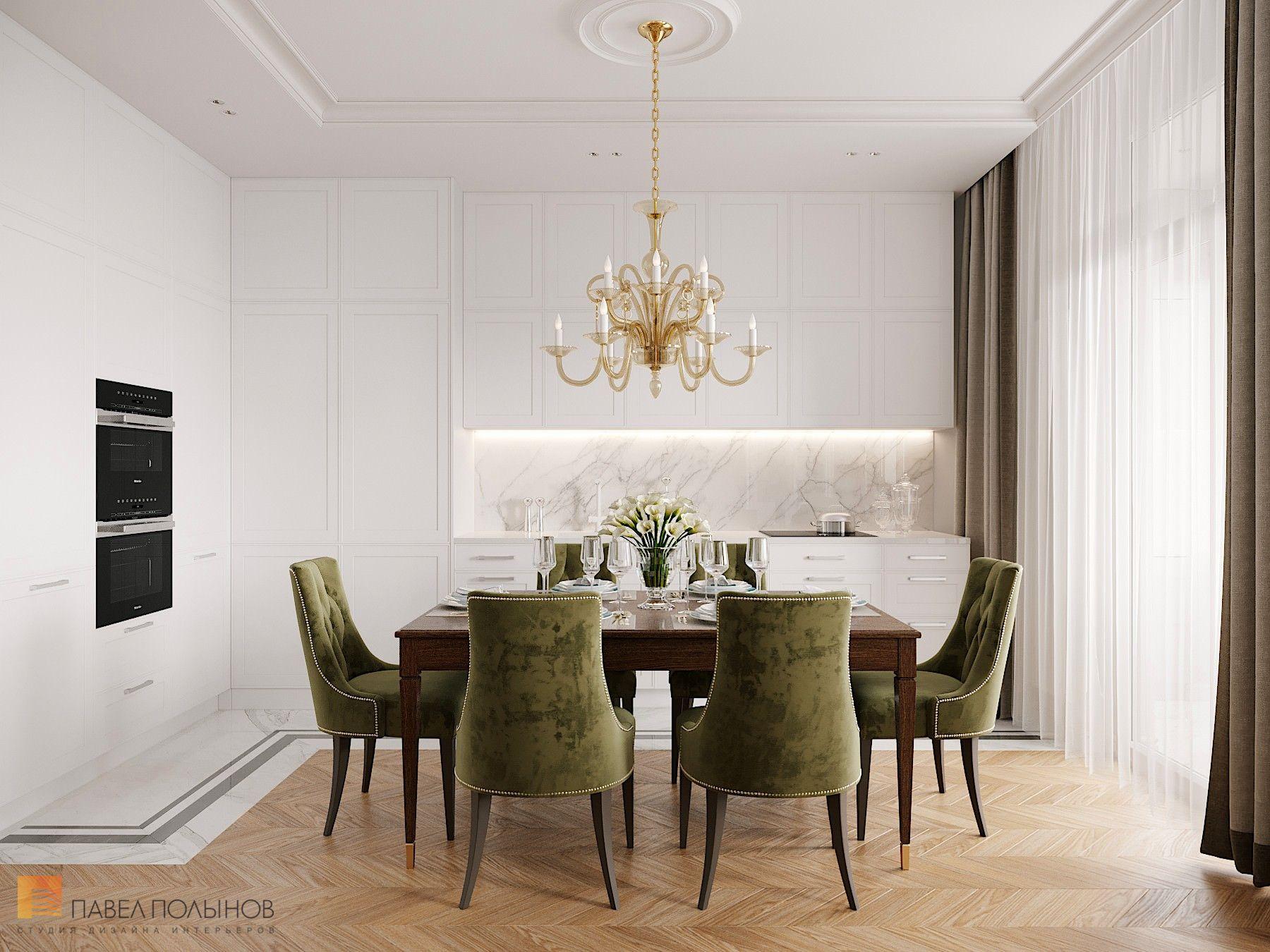 Фото дизайн интерьера кухни-гостиной из проекта «Интерьер ...
