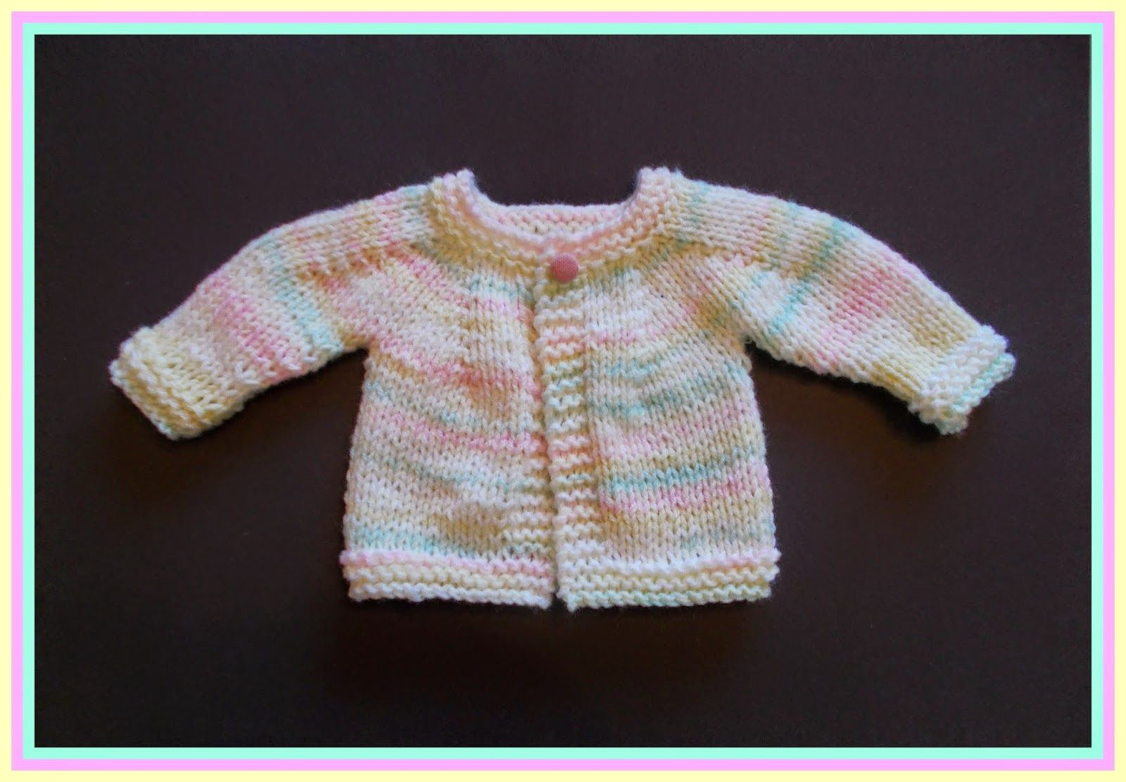 Perfect Boy or Girl Top Down Baby Jacket - Chunky Yarn - http ...