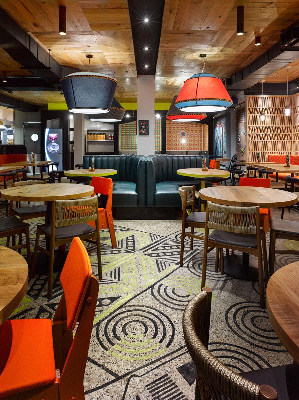 Nando S Queen West By Designagency Restaurant Design Restaurant Interior Design Firms