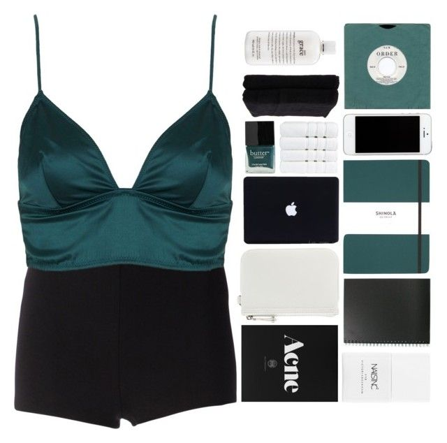 """""""TAKE ALL MY INHIBITIONS"""" by trnslucid ❤ liked on Polyvore featuring Martin Grant, Topshop, Nails Inc., Nine West, Shinola, Butter London, Christy, Home Source International, philosophy and nicolewantstoseethis"""