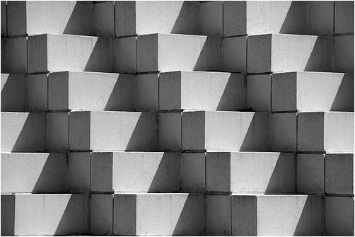 Repetition- the blocks are all the same size and the ...