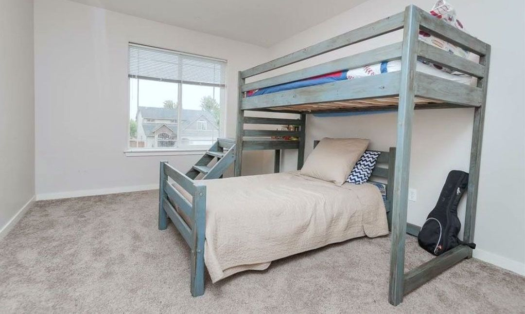 Camp Twin Bed Frame Fits Under The Camp Loft Bed Build A Loft