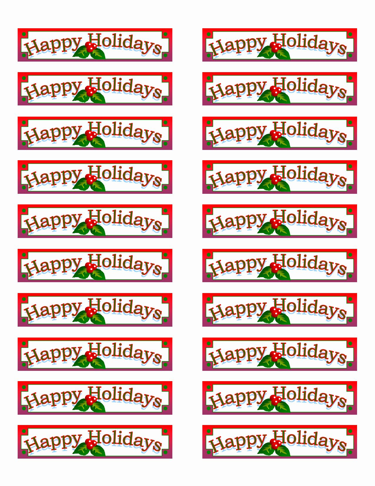 Free Printable Christmas Mailing Labels Inspirational 6 Best Of Printable Ch Christmas Address Labels Christmas Labels Template Christmas Return Address Labels Holiday return address labels template
