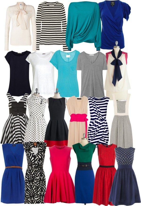 LISTA DOS DESEJOS VERÃO wardrobe-clothes-pruning-polyvore-season-spring-summer
