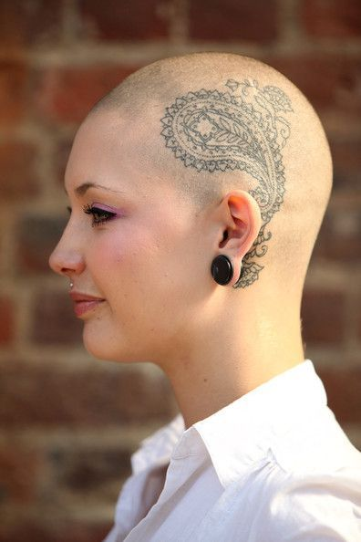 ff78877ca060e people with tattoos on head with alopecia - Google Search   Alopecia ...