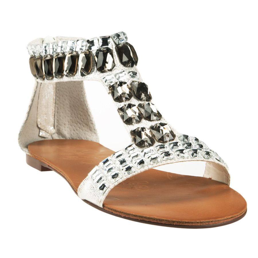 03ed070d904 Naughty Monkey Hot Sake Jeweled Gladiator Sandal  VonMaur