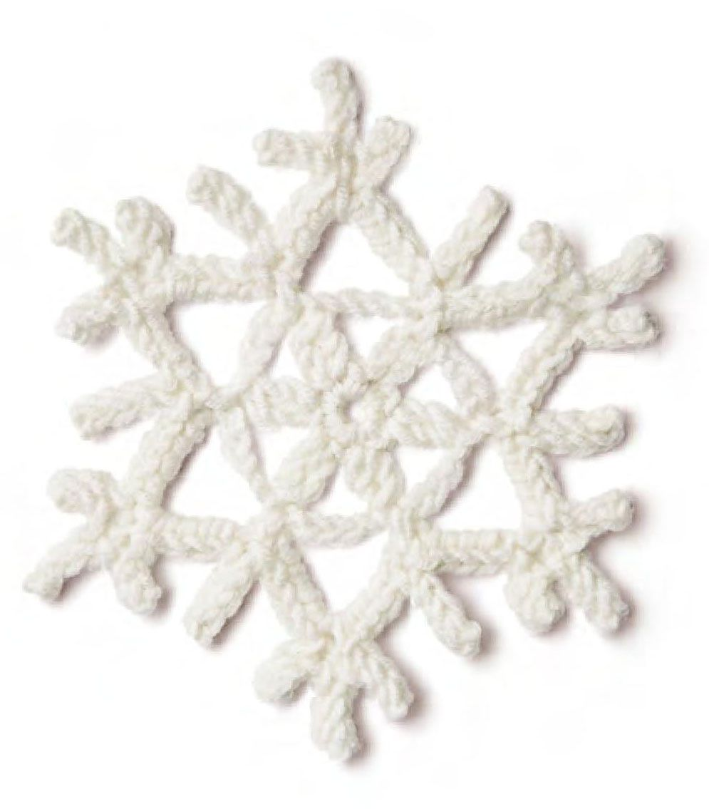A snowflake crochet pattern. More Great Looks Like This | -Crochet ...