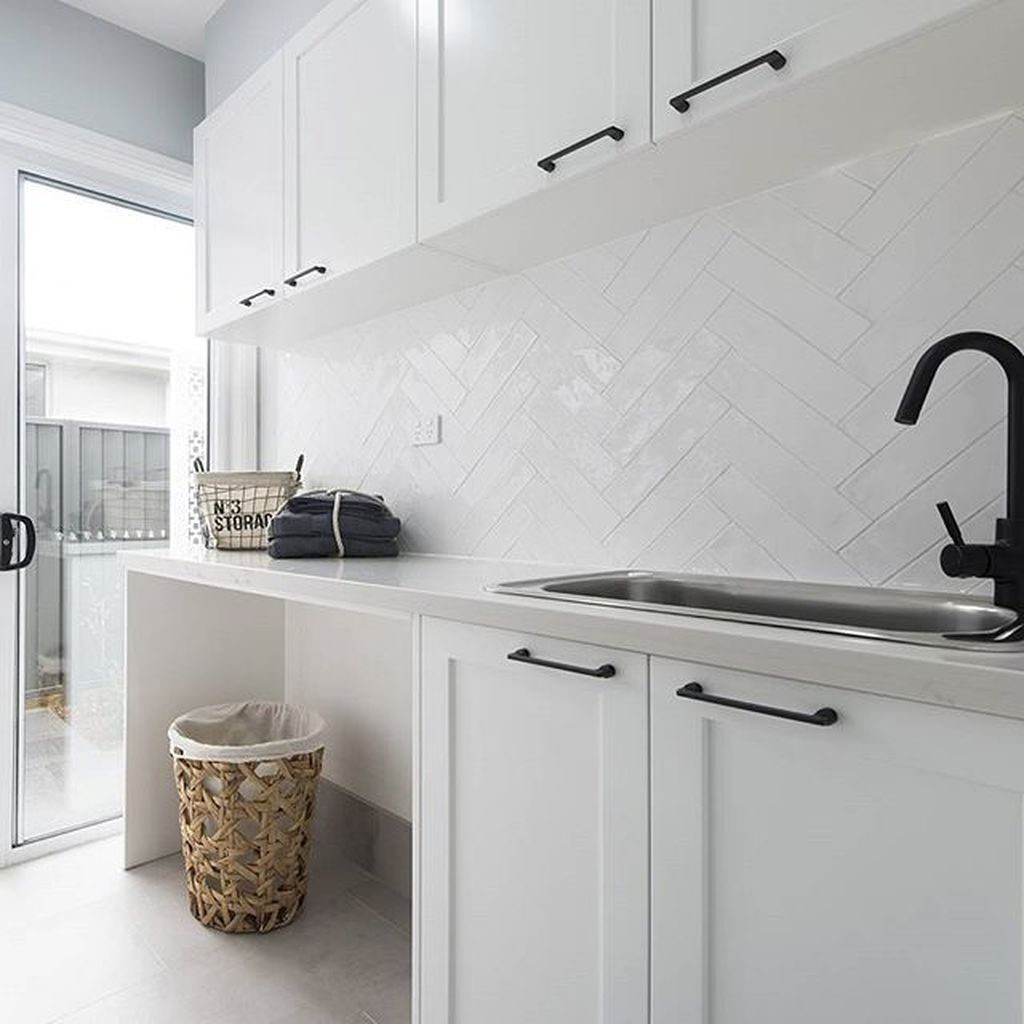 45 Latest Laundry Room Tile Pattern Ideas images