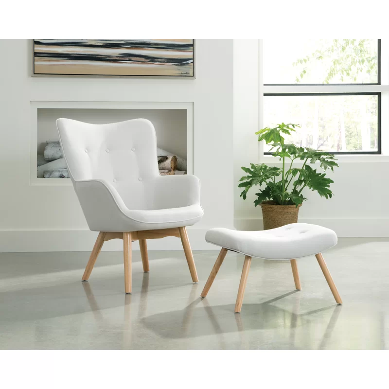 Magnificent Bello Mid Century Modern Lounge Chair And Ottoman Home Caraccident5 Cool Chair Designs And Ideas Caraccident5Info