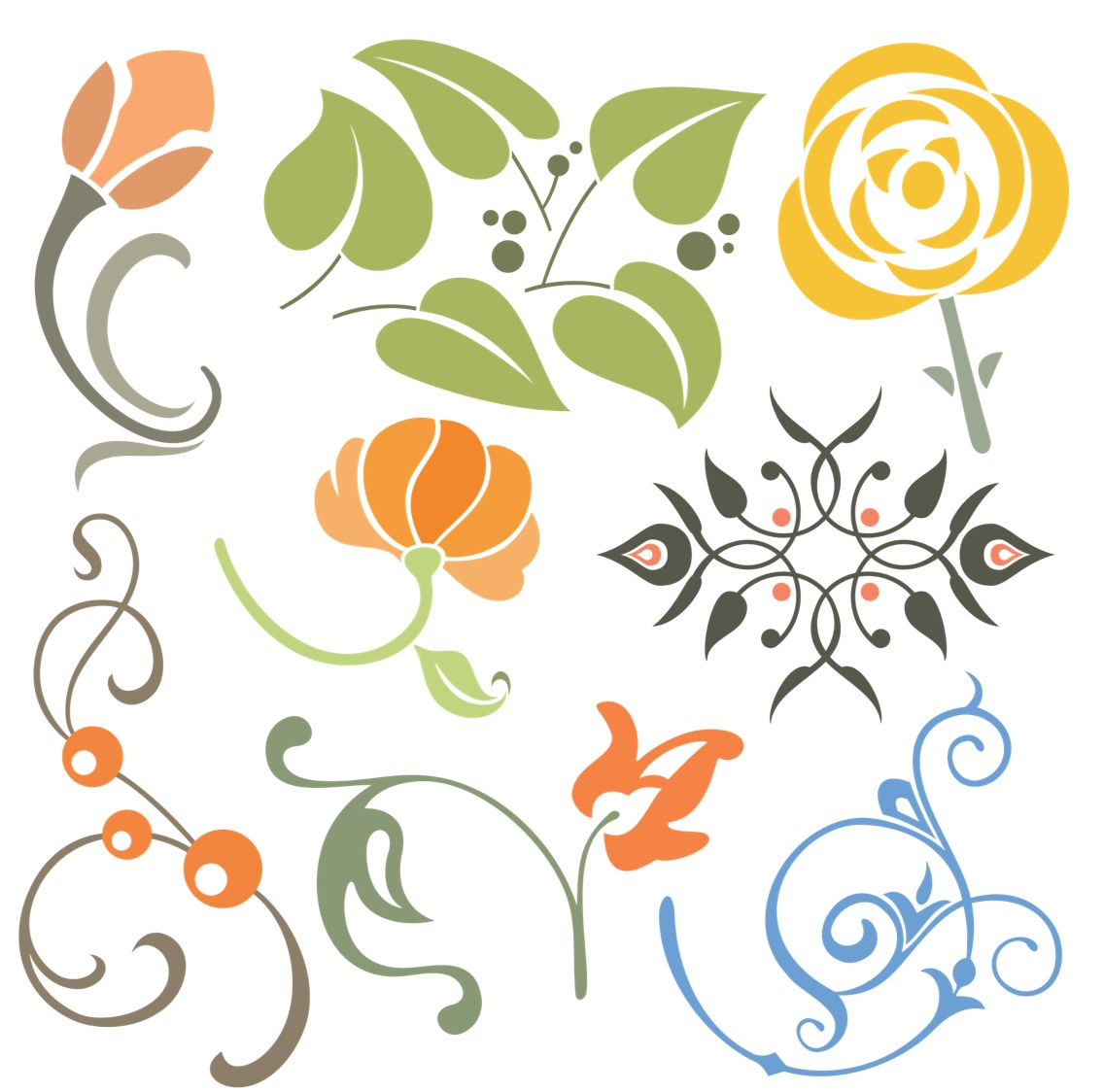 Imgs For Simple Floral Fabric Painting Designs
