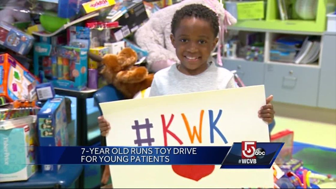 5 for good little boy runs toy drive for young patients
