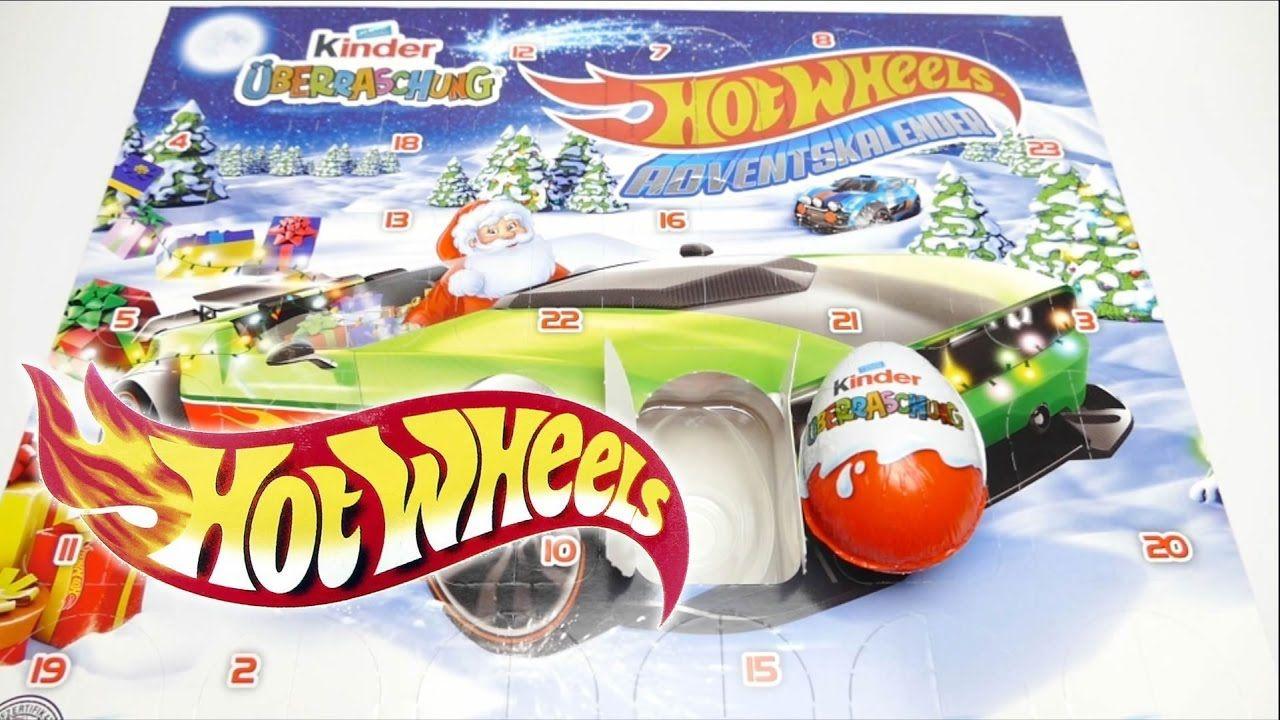Kinder Weihnachtskalender.Hot Wheels Adventskalender Kinder 24 überraschungseier Mattel