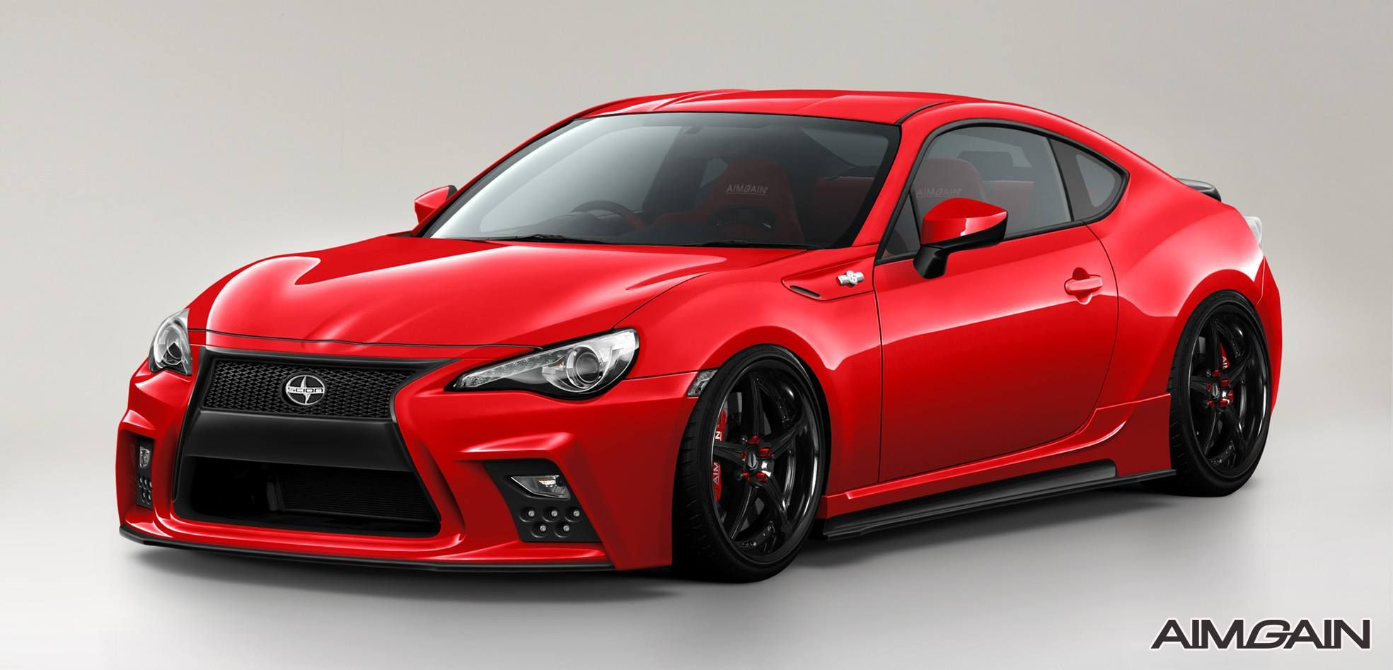 Toyota 86 scion fr s new body kit debut from aimgain