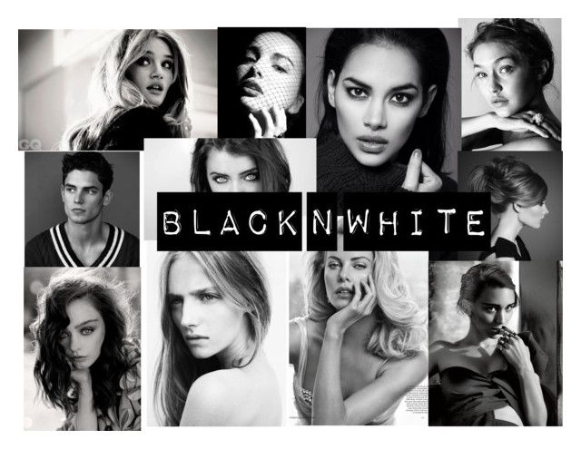 """""""black n white"""" by elliebean16 ❤ liked on Polyvore featuring art"""
