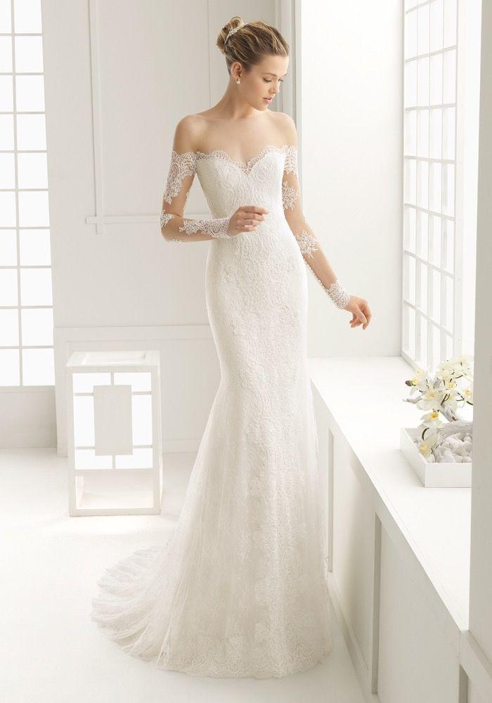 Rosa Clara Elegant Mermaid Dress Hong Kong Designer Bridal Room