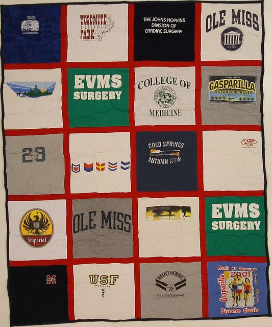 Turn All Those Shirts You Don T Wear Anymore Into A Cozy Throw For The Couch 20 Sq Couch T Shirt Quilt With Bla Campus Quilt Campus Quilt Company Shirt Quilt