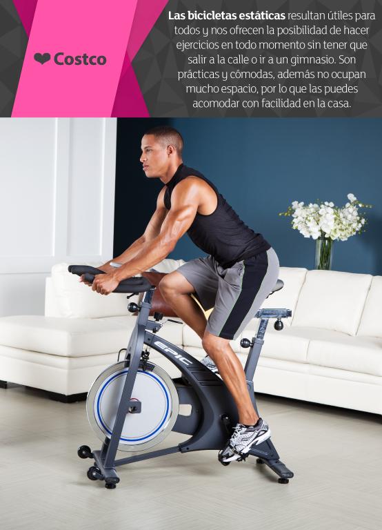 Rutina de ejercicios para bajar de peso en bicicleta fija