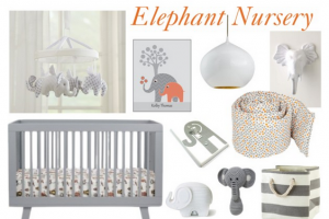 Create A Sweet Elephant Themed Nursery Light Switch Cover Is My Favorite And Probably Could Be Diy