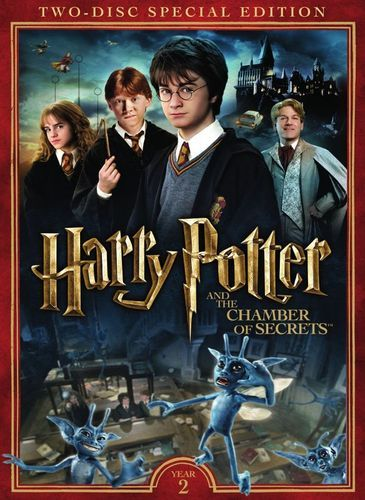 Harry Potter And The Chamber Of Secrets 2 Discs Dvd 2002 Best Buy Chamber Of Secrets Harry Potter Movies Harry Potter