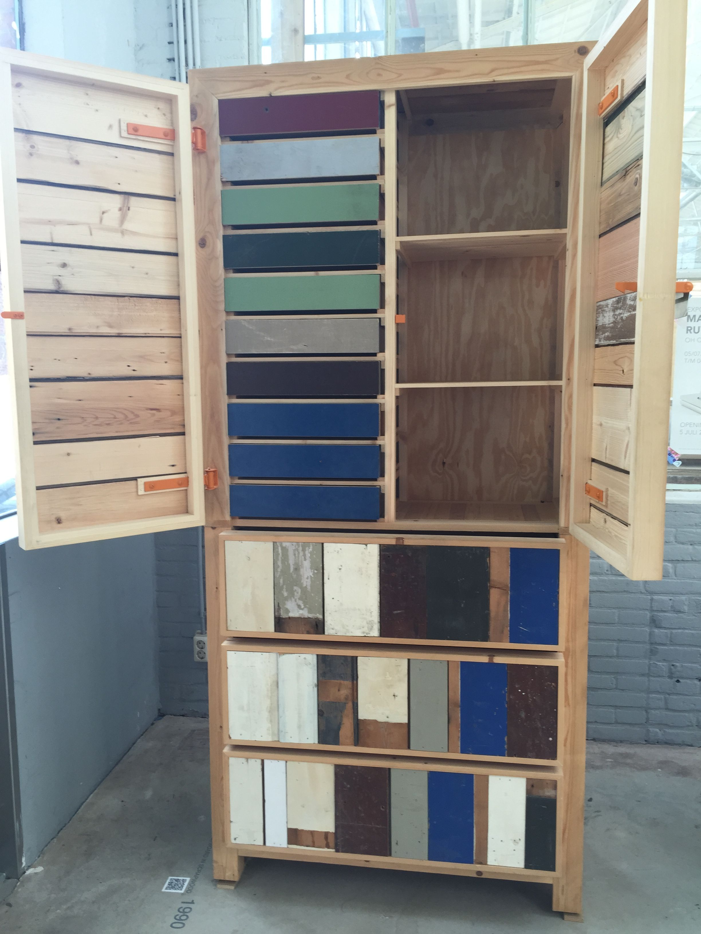 Piet Hein Eek S Wood Cabinet A Made With Well