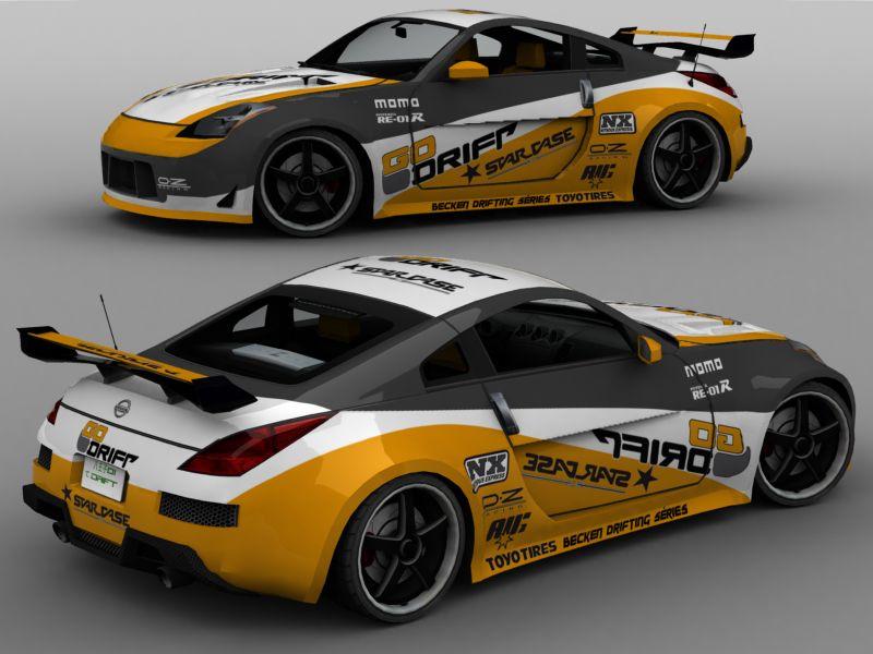 Trackmania Carpark Pinturas Nissan Go Drift
