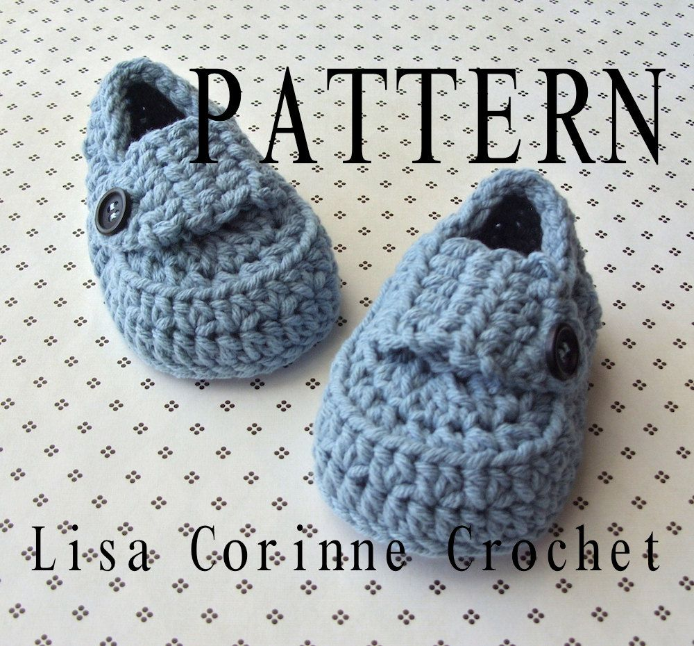 Baby booties crochet pattern baby loafers crochet booties a cool baby booties crochet pattern boys baby loafers are a really cute crochet baby shoes style this listing is a crochet booties pattern dt1010fo