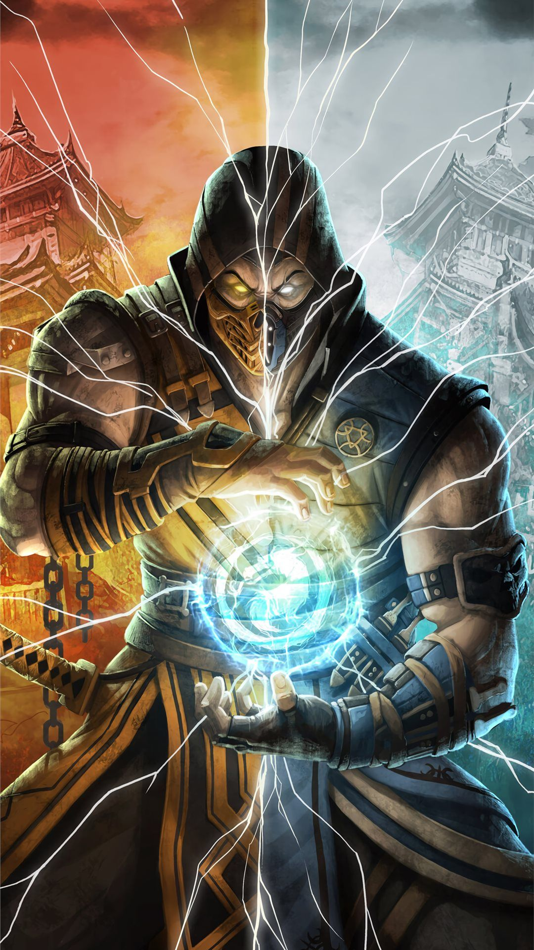 2019 Mortal Kombat 11 Iphone 8 Wallpapers Wojownicy Tapety Konie
