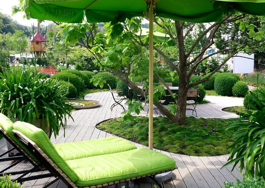 Kleine Gärten Groß Gestalten! | Haus, Suche Und Garten Garten Mit Patio Gestalten