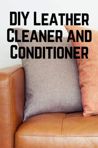 DIY Leather Cleaner and Conditioner Cleaning leather