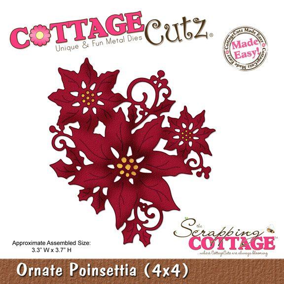 http://www.scrappingcottage.com/cottagecutzornatepoinsettia4x4.aspx