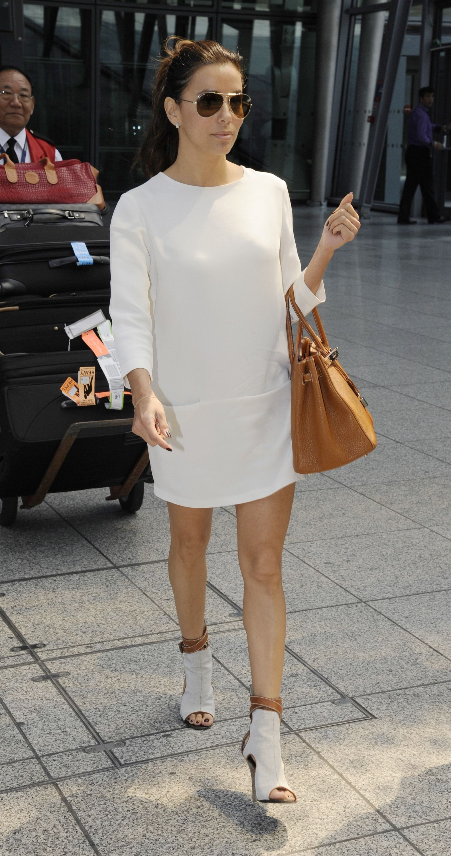 Eva Longoria - Hermes Birkin Bag