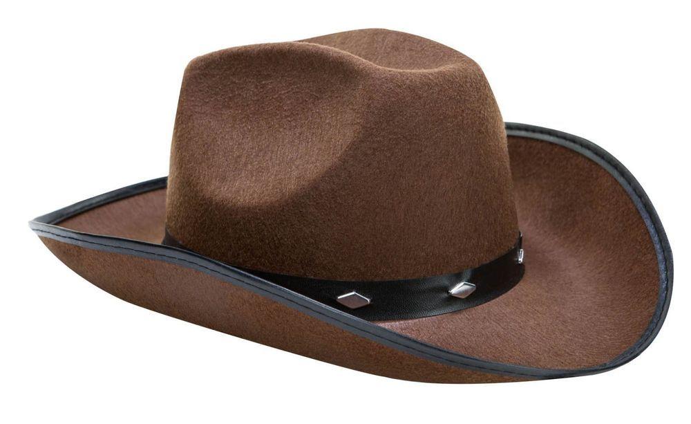 ad2bd4d0f70fb Brown Cowboy Hat Fedora Felt Justin Cowgirl Stylish Western Costume Woman  Party  Kangaroo