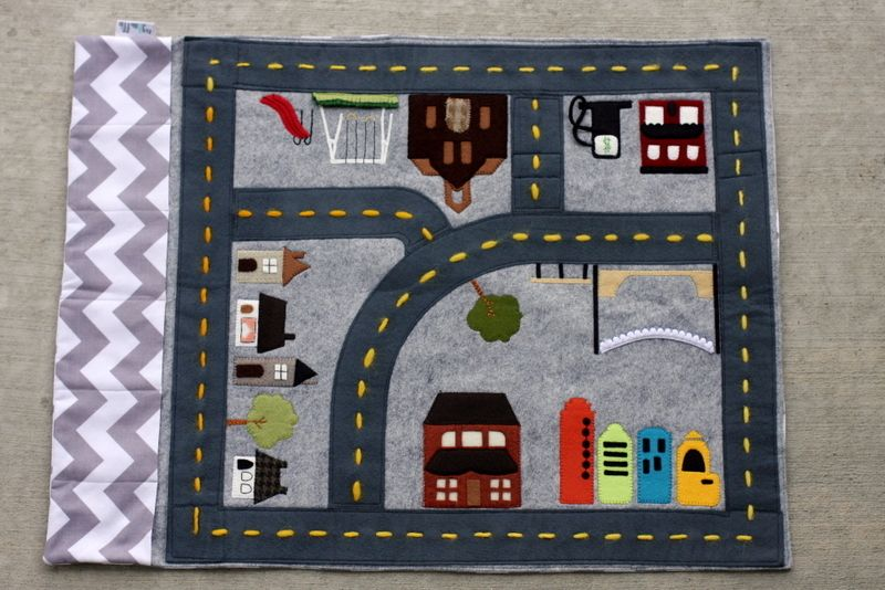 Car Play Mats On Pinterest Felt Play Mat Play Mats And