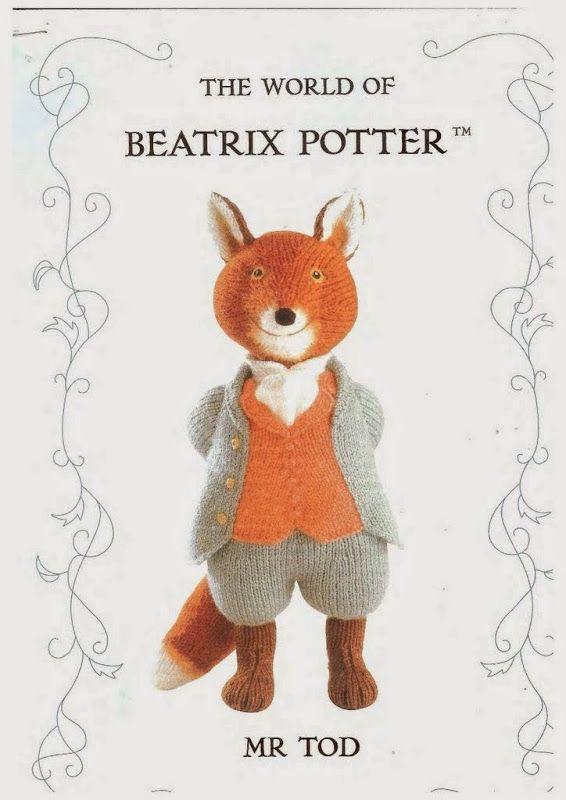 The World of Beatrix Potter- Mr Tod | haken en breien | Pinterest ...