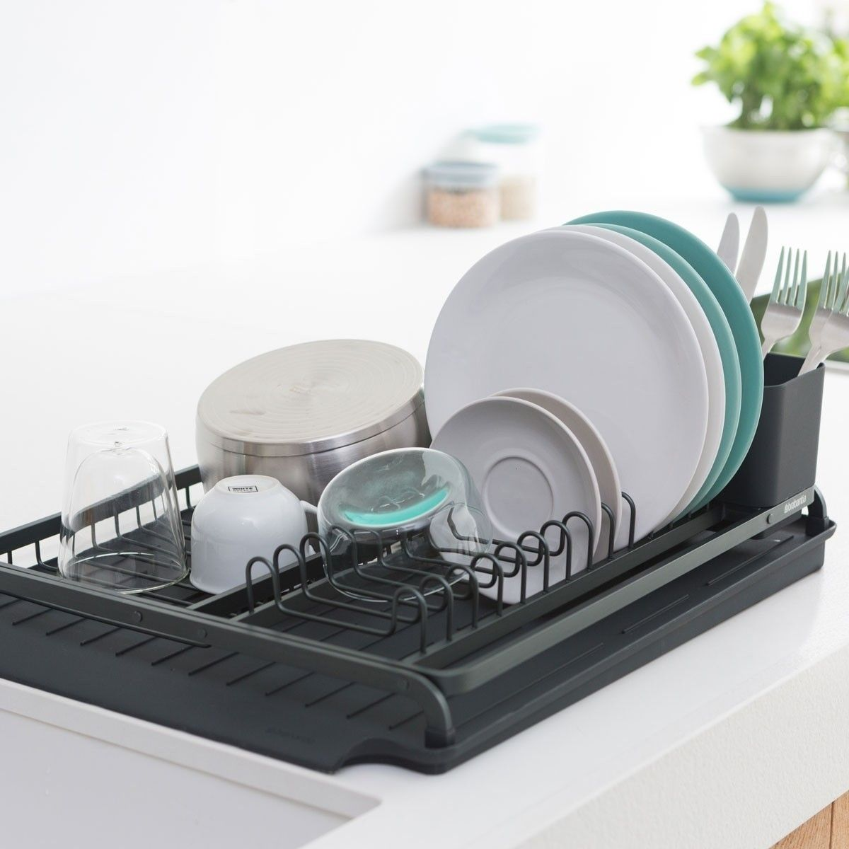 Kitchen Image By Yonit Sasson Lavon Dish Rack Drying Drying